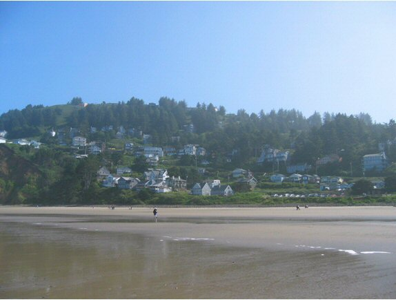View of Oceanside Village frombeach