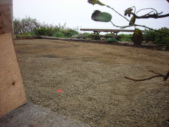 Prepping the ground for leveling