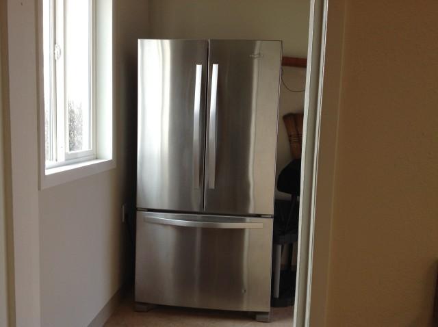 Refrigerator - back room